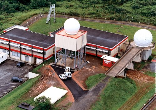 Radar site ROMUALD (French Guyana)