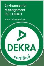 ISO 14001 DEKRA Seal