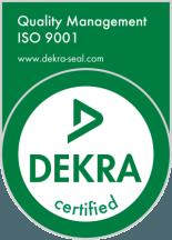 ISO 9001 DEKRA Seal