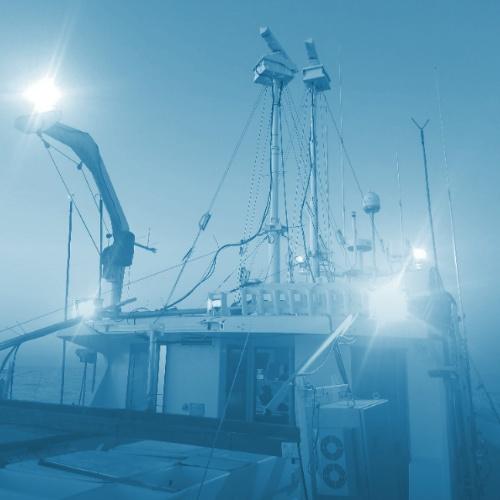 Wave Sensing Radar on Ship